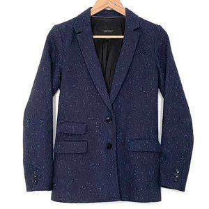 Banana Republic - Confetti Tweed Hacking Jacket
